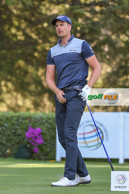 Henrik Stenson (SWE) watches his tee shot on 8 during round 1 of the World Golf Championships, Mexico, Club De Golf Chapultepec, Mexico City, Mexico. 2/21/2019.<br /> Picture: Golffile | Ken Murray<br /> <br /> <br /> All photo usage must carry mandatory copyright credit (© Golffile | Ken Murray)