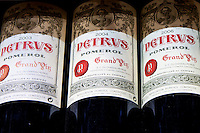 Chateau Petrus fine wine vintage 2003, 2004, 2006, Grand Vin on sale in St Emilion, Bordeaux, France