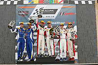 #73 MINI JCW Team, MINI JCW, ST: Mat Pombo, Mike LaMarra, podium, #52 MINI JCW Team, MINI JCW, ST: Mark Pombo, Colin Mullan, #81 BimmerWorld Racing, BMW 328i, ST: Nick Galante, Devin Jones