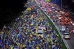 Protesto de professores da rede municipal. Sao Paulo. 2014. Foto de Levi Bianco.