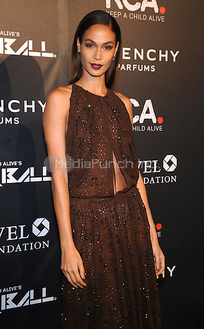 New York, NY- October 30: Joan Smalls attends Keep a Child Alive's 11Annual Black Ball at Hammerstein Ballroom on October 30, 2014 in New York City. Credit: John Palmer/MediaPunch