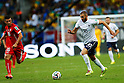 Blerim Dzemaili (SUI), Karim Benzema (FRA), JUNE 20, 2014 - Football /Soccer : FIFA World Cup Brazil 2014 Group E match between Switzerland 2-5 France at Arena Fonte Nova, Salvador, Brazil. (Photo by D.Nakashima/AFLO)
