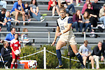 27 October 2013: Pittsburgh's Morgan Sharick. The Duke University Blue Devils hosted the Pittsburgh University Panthers at Koskinen Stadium in Durham, NC in a 2013 NCAA Division I Women's Soccer match. Duke won the game 6-3.
