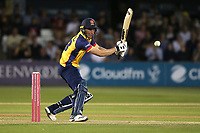 Daniel Lawrence in batting action for Essex during Essex Eagles vs Somerset, Vitality Blast T20 Cricket at The Cloudfm County Ground on 7th August 2019