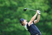 Tommy FLEETWOOD (ENG) drives at the 3rd hole drives at the 2nd hole during the final round of the 2015 BMW PGA Championship over the West Course at Wentworth, Virgina Water, London. 24/05/2015<br /> Picture Fran Caffrey, www.golffile.ie