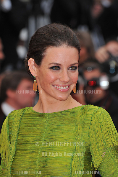 "Evangeline Lilly at the premiere of Woody Allen's ""You Will Meet A Tall Dark Stranger"" at the 63rd Festival de Cannes..May 15, 2010  Cannes, France.Picture: Paul Smith / Featureflash"