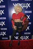 "HOLLYWOOD, CA - DECEMBER 5: Lex Lu, at the LA Premiere Of Neon's ""Vox Lux"" at ArcLight Hollywood in Hollywood California on December 4, 2018. Credit: Faye Sadou/MediaPunch"