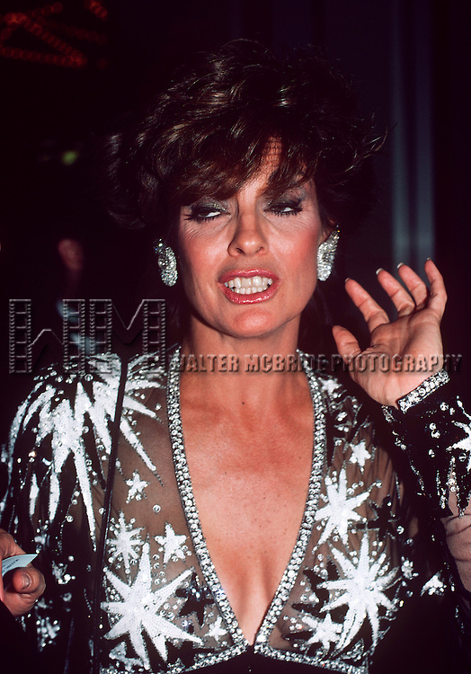 Linda Gray in Los Angeles, California in 1984 at the Emmy Awards.