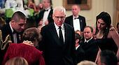 David M. Rubenstein, co-founder and co-chief executive officer of The Carlyle Group and chairman of the Kennedy Center for the Performing Arts, at the reception in the East Room of the White House in Washington, D.C. for the  37th Kennedy Center Honorees on Sunday, December 7, 2014.<br /> Credit: Dennis Brack / Pool via CNP