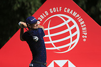 Justin Rose (ENG) on the 9th tee during the final round of the WGC HSBC Champions, Sheshan Golf Club, Shanghai, China. 03/11/2019.<br /> Picture Fran Caffrey / Golffile.ie<br /> <br /> All photo usage must carry mandatory copyright credit (© Golffile | Fran Caffrey)