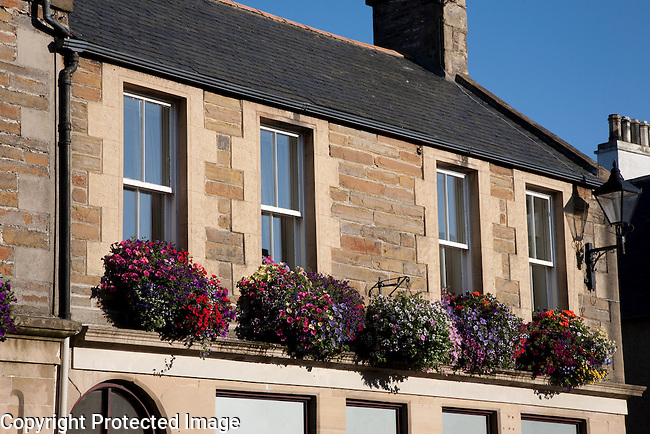 Typical Facade in Kirkwall, Orkney Islands, Scotland