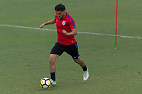 Nashville, TN - July 3, 2017: Cristian Roldan during Training @ Lipscomb University prior to their 2017 Gold Cup.