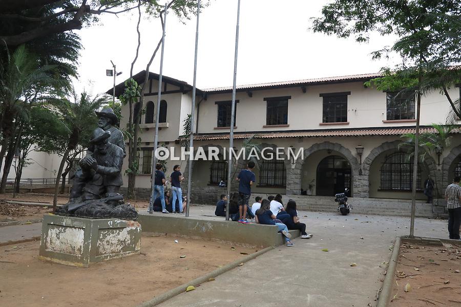 Escola publica. Colegio Fernao Dias, bairro de Pinheiros, Sao Paulo. 2017. Foto Juca Martins.