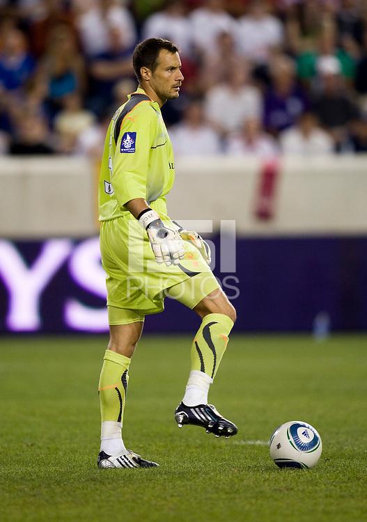 Carlo Cudicini. Tottenham defeated the New York Red Bulls, 2-1.