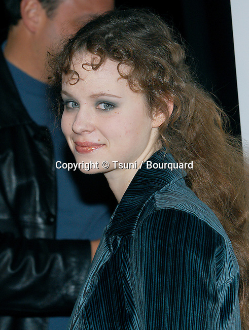 Thora Birch arriving at the L.A. Screening of: Gangs Of New York at the Director Guild Of America Theatre in Los Angeles. December 17, 2002.