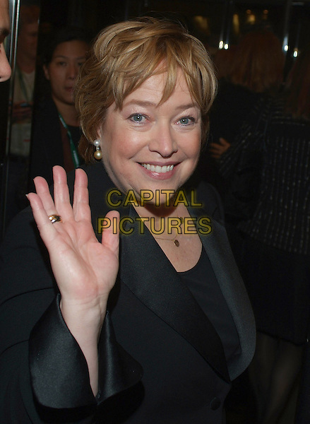 "KATHY BATES.""Bonneville"" Premiere during the 2006 Toronto International Film Festival held at Roy Thomson Hall, Toronto, Ontario, Canada..September 11th, 2006.Ref: ADM/BP.headshot portrait hand palm.www.capitalpictures.com.sales@capitalpictures.com.©Brent Perniac/AdMedia/Capital Pictures."