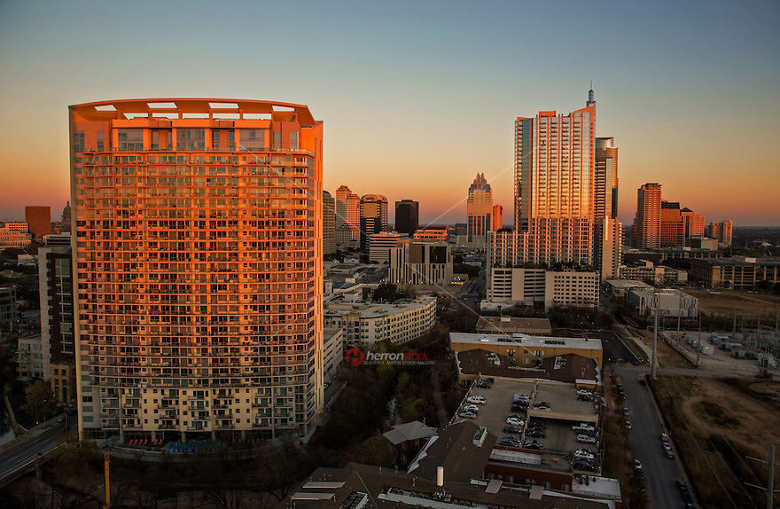 Downtown City Living In Austin, Texas Offers Many Luxury High Rise Condos  And City