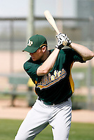 Ben Copeland - Oakland Athletics - 2009 spring training.Photo by:  Bill Mitchell/Four Seam Images