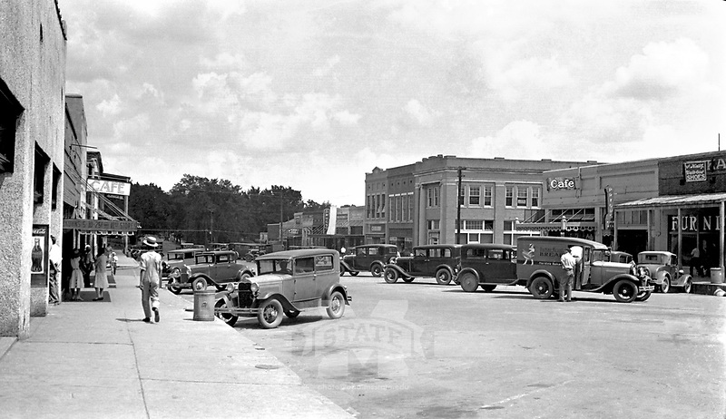 Downtown Starkville <br />