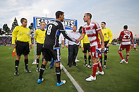 San Jose Earthquakes vs FC Dallas, July 18, 2012