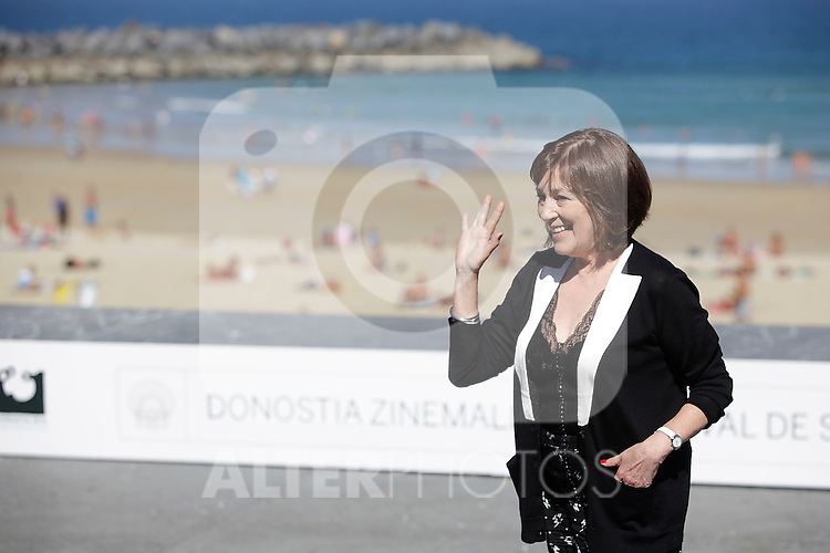 "Actress Carmen Maura posses during the presentation of ""Las brujas de Zugarramurdi"" in the 61 San Sebastian Film Festival, in San Sebastian, Spain. September 22, 2013. (ALTERPHOTOS/Victor Blanco)"