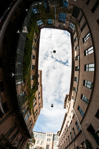 A fish eye view of Berlin
