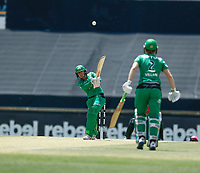 3rd November 2019; Western Australia Cricket Association Ground, Perth, Western Australia, Australia; Womens Big Bash League Cricket, Sydney Sixers verus Melbourne Stars; Erin Osborne of the Melbourne Stars hits down the ground during her innings - Editorial Use