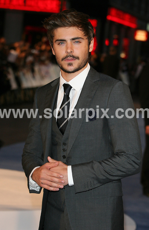 **ALL ROUND PICTURES FROM SOLARPIX.COM**                                             **WORLDWIDE SYNDICATION RIGHTS**  .The Death And Life Of Charlie St Cloud' UK film premiere at the Empire Leicester Square on September 16, 2010 in London, England                                                                                Caption:                                                                               .This pic: Zac Efron                                                                                             JOB REF: 12102       LNJ       DATE: 16.09.2010                                                            **MUST CREDIT SOLARPIX.COM OR DOUBLE FEE WILL BE CHARGED**                                                                      **MUST AGREE FEE BEFORE ONLINE USAGE**                               **CALL US ON: +34 952 811 768 or LOW RATE FROM UK 0844 617 7637**