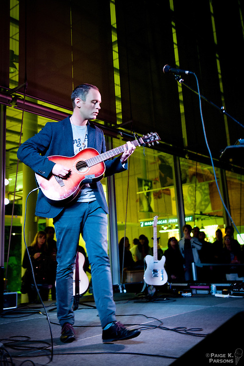 Jens Lekman at The Teasure Island Pre-Party at The Academy of Sciences in San Francisco. September 29th, 2011. Sponsored by Noisepop and Another Planet Entertainment. Copyright Paige K. Parsons
