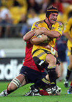 080222 Super 14 Rugby - Hurricanes v Reds