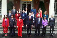 First Council of Ministers of the President Pedro Sanchez.