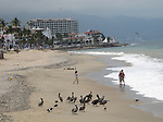 Puerto Vallarta is a Mexican beach resort city situated on the Pacific Ocean's Bah&iacute;a de Banderas. Puerto Vallarta's population as the second largest city in the state of Jalisco. <br /> Photo by Deirdre Hamill/Quest Imagery
