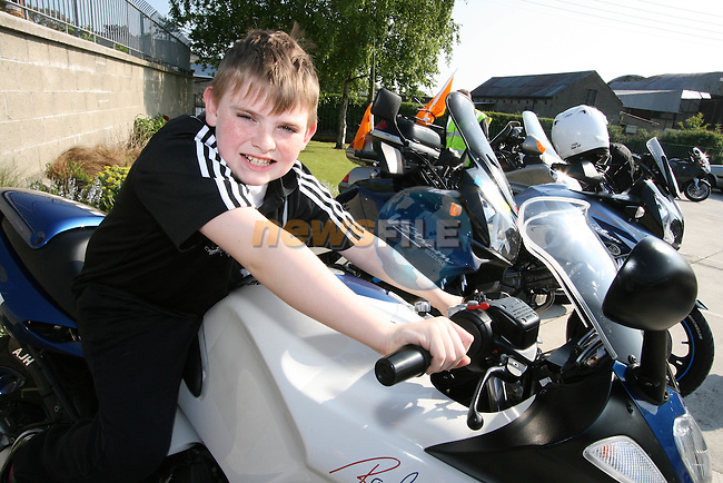 Peter O'Callaghan at the Start of the Run of the Country Motorcycle Run at St.Itas School...Photo NEWSFILE/Jenny Matthews.(Photo credit should read Jenny Matthews/NEWSFILE)....This Picture has been sent you under the condtions enclosed by:.Newsfile Ltd..The Studio,.Millmount Abbey,.Drogheda,.Co Meath..Ireland..Tel: +353(0)41-9871240.Fax: +353(0)41-9871260.GSM: +353(0)86-2500958.email: pictures@newsfile.ie.www.newsfile.ie.FTP: 193.120.102.198.