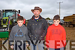 Johnny Foley, John Foley, Paddy Foley from Lixnaw at the Abbeydorney Ploughing Match on Sunday