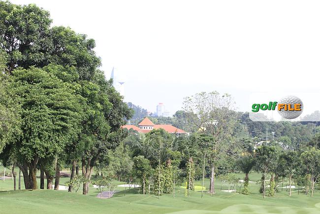 during the Pro-Am of the Maybank Malaysian Open 2012 at Kuala Lumpur Golf and Country Club, Kuala Lumpur, Malaysia...(Photo Jenny Matthews/www.golffile.ie)