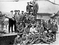 BNPS.co.uk (01202 558833)<br /> Pic Lawrences/BNPS<br /> <br /> Captain Maurice Bailward surrounded by his crew on submarine G14<br /> <br /> Fascinating early photos of submarine warfare featuring close quarters views of German battleships have come to light 100 years later.<br /> <br /> The photo albums were collated by British Commander Maurice Bailward who documented every stage of his naval career.<br /> <br /> Cmdr Bailward attended Royal Naval College in Osborne, Isle of Wight, from 1906 and 1908, the same time as Edward, the Prince of Wales.<br /> <br /> He was involved in many of the major sea battles of World War Two as well as the British effort to help the Whites during the Russian Civil War of 1919.<br /> <br /> The albums have emerged for sale at auction from a family descendant with Lawrences Auctioneers, of Crewkerne, Somerset.