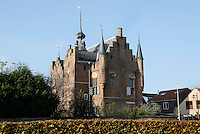 Nederland Zaltbommel 2016. Het Stadskasteel Zaltbommel. Het Stadskasteel Zaltbommel is een museum gevestigd in het Maarten van Rossumhuis. Het is een streekmuseum. Foto Berlinda van Dam / Hollandse Hoogte