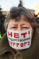 Anti-Putin Anniversary Protest