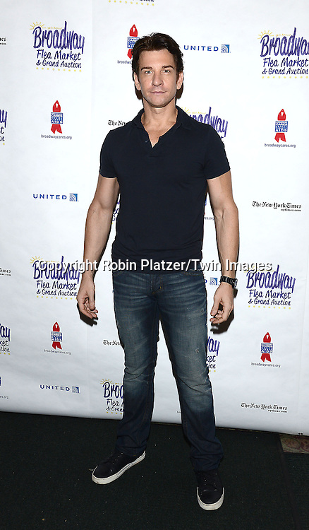 Andy Karl attends the 28th Annual  Broadway Cares/ Equity Fights Aids Flea Market and Auction on September 21,2014 in Shubert Alley in New York City. <br /> <br /> photo by Robin Platzer/Twin Images<br />  <br /> phone number 212-935-0770