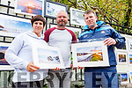Conagh and Damien Mullen and James Browne displaying their Art in the Park at the Féile na mBláth on Saturday