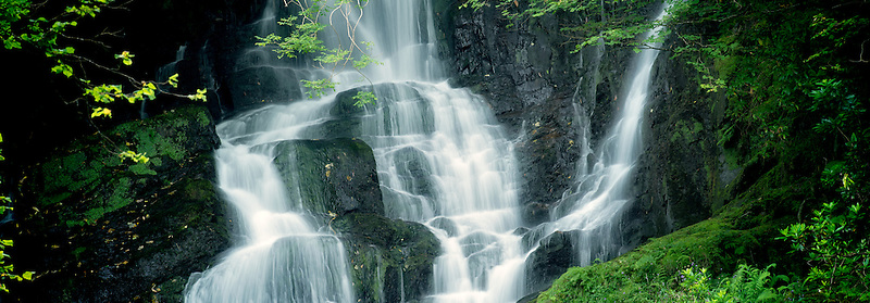 Torque Falls, Killarney National Park, Ireland.