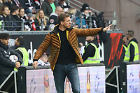 Trainer Julian Nagelsmann (TSG 1899 Hoffenheim) - 02.03.2019: Eintracht Frankfurt vs. TSG 1899 Hoffenheim, Commerzbank Arena, 24. Spieltag Bundesliga, DISCLAIMER: DFL regulations prohibit any use of photographs as image sequences and/or quasi-video.