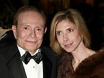 Jerry Herman ( Composer ) with his god daughter<br />Attending the Opening Night performance for<br />LA CAGE aux FOLLES at the Marquis Theatre in New York City.<br />December 9, 2004