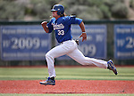 Wildcats' D.J. Peters runs the bases against Eastern during a game at Western Nevada College in Carson City, Nev., on Friday, April 29, 2016.<br />Photo by Cathleen Allison