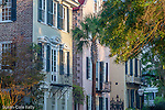 Architecture, South of Broad street in Charleston, South Carolina, USA