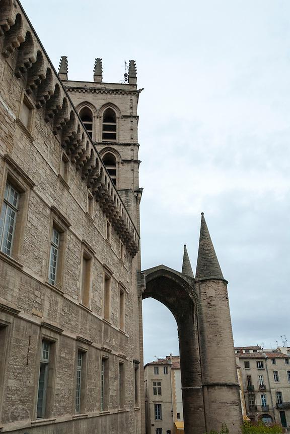 Cathédrale Saint-Pierre de Montpellier, France.