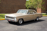 1966 Full Custom Chevy II Nova Junior (#136) – 1966 Chevrolet Nova registered to Walter Pacholke is pictured during 4th State Representative Chevy Show on Friday, July 1, 2016, in Fort Wayne, Indiana. (Photo by James Brosher)