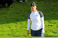 Annie Park (USA) on the 17th during Day 3 Singles at the Solheim Cup 2019, Gleneagles Golf CLub, Auchterarder, Perthshire, Scotland. 15/09/2019.<br /> Picture Thos Caffrey / Golffile.ie<br /> <br /> All photo usage must carry mandatory copyright credit (© Golffile | Thos Caffrey)