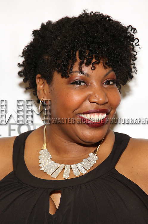 Aurelia Williams during a reception for Theatre Forward's Chairman's Awards Gala at the Pierre Hotel on April 8, 2019 in New York City.