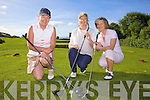 Fore! - Competing in Ballyheigue Castle Golf Club Lady Captain's Day on Saturday morning were l/r Yvonne Delaney, Kilmoyle, Marie McMahon and Mary Flahive, Ballyheigue........................................................................................................................................................................................................................................ ............